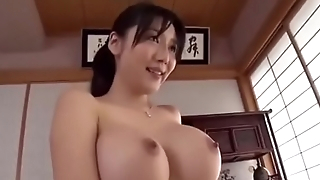 Miho Ichiki - son begged big tits stepmom , finaly foster-parent and son fucked