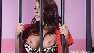 Glam Jail Nail - Madison Ivy - FULL SCENE on http://bit.ly/BraSex